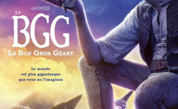 """Affiche du film """"Le BGG - Le Bon Gros Géant"""""""