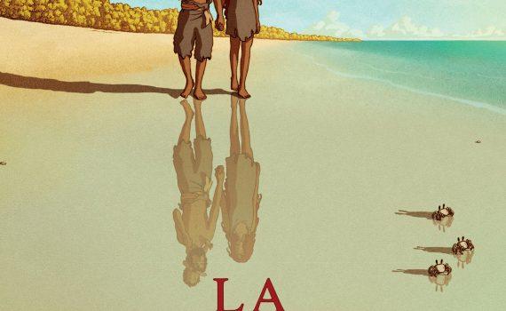 """Affiche du film """"La tortue rouge"""""""