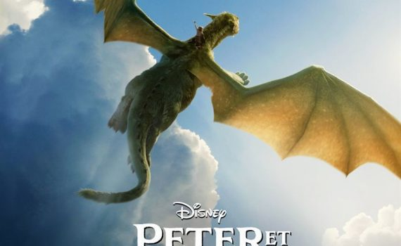 "Affiche du film ""Peter et Elliott le Dragon"""