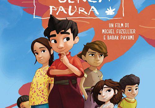 """Affiche du film """"Iqbal, l'enfant qui n'avait pas peur"""""""