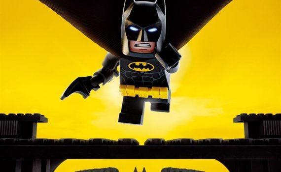 "Affiche du film ""Lego Batman, Le Film"""