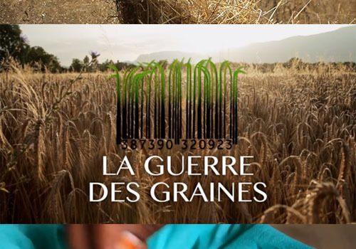 """Affiche du film """"La Guerre des Graines"""""""