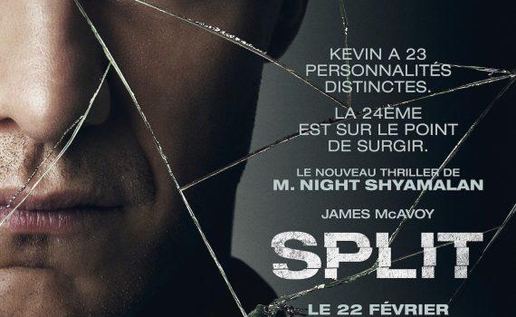 "Affiche du film ""Split"""