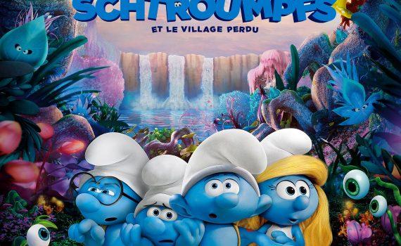 """Affiche du film """"Les Schtroumpfs et le Village perdu"""""""