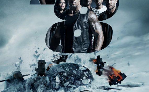 """Affiche du film """"Fast & Furious 8"""""""