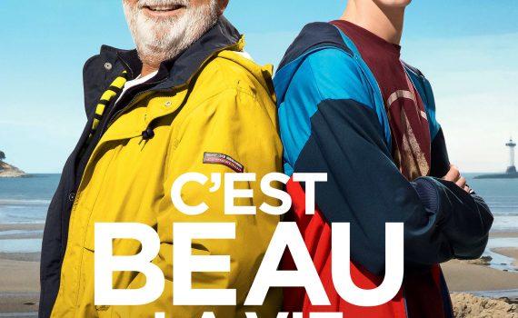 """Affiche du film """"C'est beau la vie quand on y pense"""""""