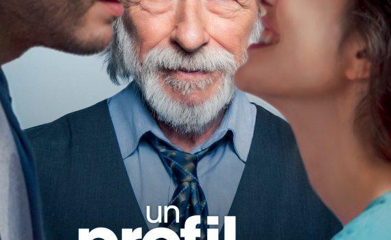 """Affiche du film """"Un Profil pour deux"""""""