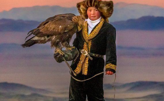"""Affiche du film """"La jeune fille et son aigle"""""""