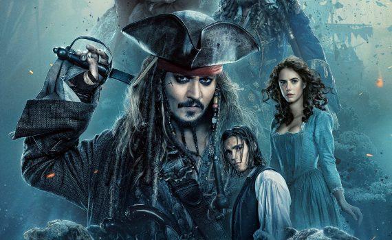 """Affiche du film """"Pirates des Caraïbes : La vengeance de Salazar"""""""