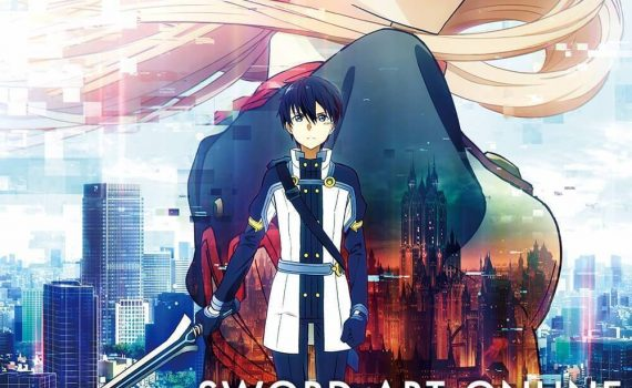 "Affiche du film ""Sword Art Online The Movie"""