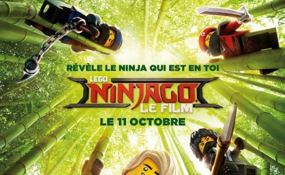 "Affiche du film ""Lego Ninjago, le film"""
