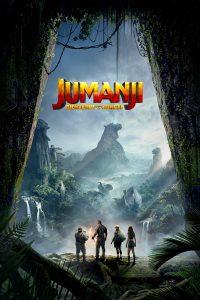 "Affiche du film ""Jumanji : Bienvenue dans la Jungle"""
