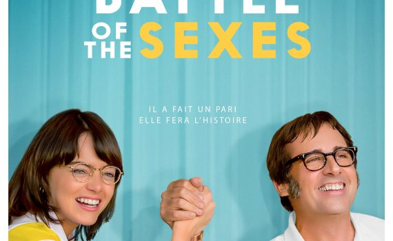 "Affiche du film ""Battle of the Sexes"""