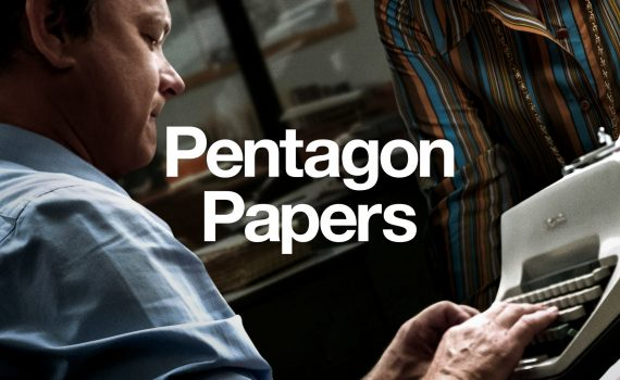 """Affiche du film """"Pentagon Papers"""""""