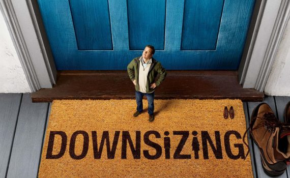 "Affiche du film ""Downsizing"""