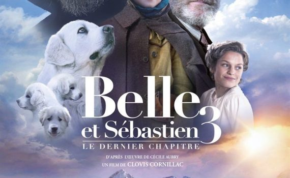 """Affiche du film """"Belle et Sébastien 3 : Le dernier chapitre"""""""