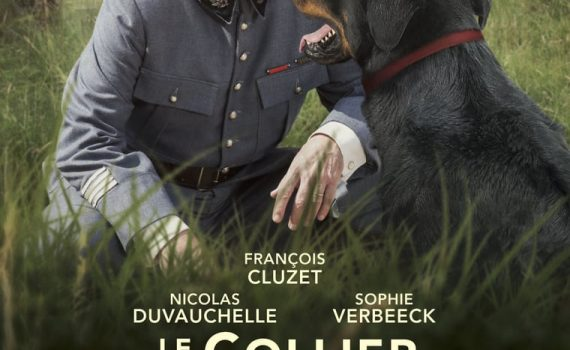 "Affiche du film ""Le Collier Rouge"""