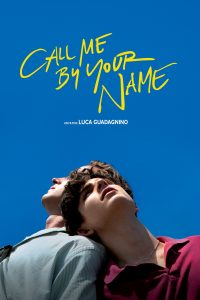 """Affiche du film """"Call Me by Your Name"""""""