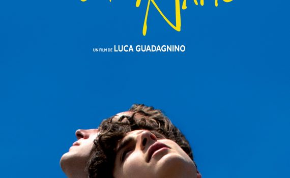 "Affiche du film ""Call Me by Your Name"""