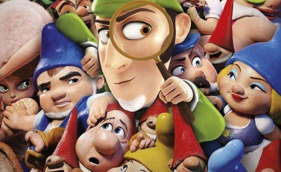 "Affiche du film ""Sherlock Gnomes"""