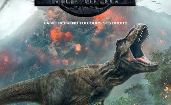 "Affiche du film ""Jurassic World : Fallen Kingdom"""
