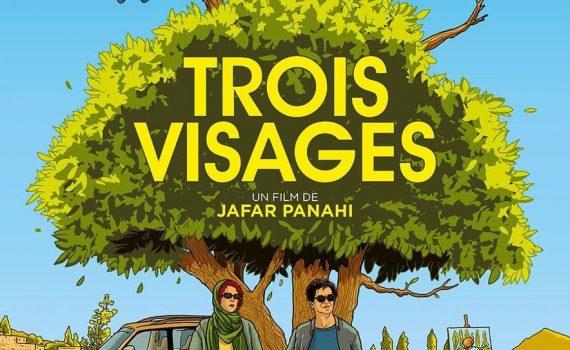 """Affiche du film """"Trois Visages"""""""
