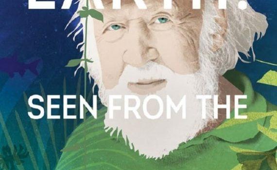 "Affiche du film ""Hubert Reeves - La Terre vue du coeur"""