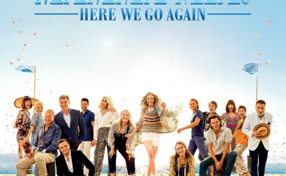 "Affiche du film ""Mamma Mia ! Here We Go Again"""
