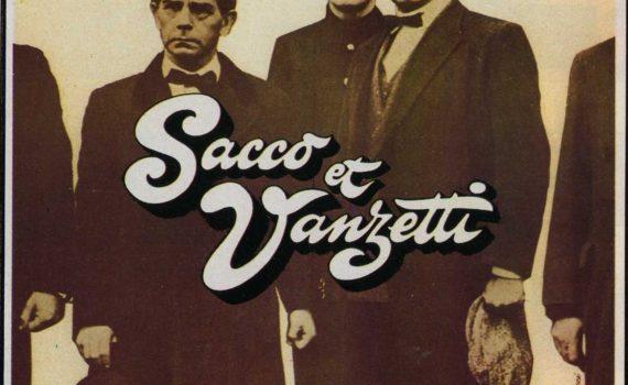 "Affiche du film ""Sacco et Vanzetti"""