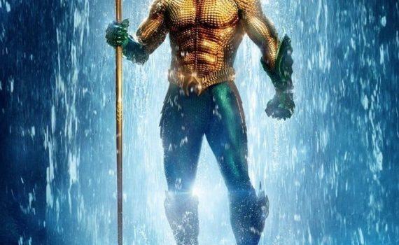 "Affiche du film ""Aquaman"""
