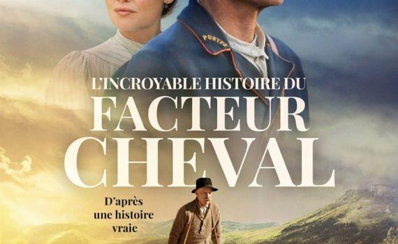 """Affiche du film """"L'Incroyable Histoire du facteur Cheval"""""""