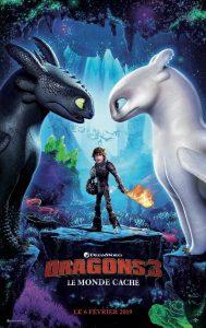 """Affiche du film """"Dragons 3 : Le Monde caché"""""""