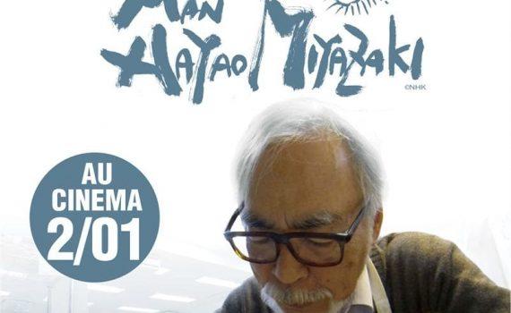 "Affiche du film ""Never-Ending Man: Hayao Miyazaki"""