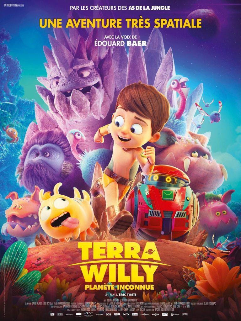 """Affiche du film """"Terra Willy: Planète inconnue"""""""