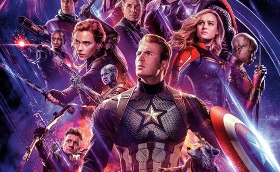 """Affiche du film """"Avengers : Endgame"""""""