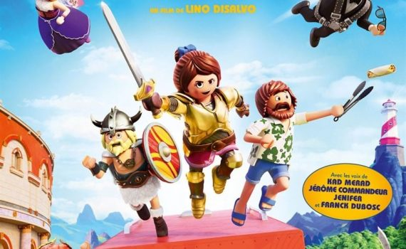 "Affiche du film ""Playmobil, le Film"""