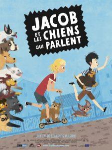 """Affiche du film """"Jacob et les chiens qui parlent"""""""