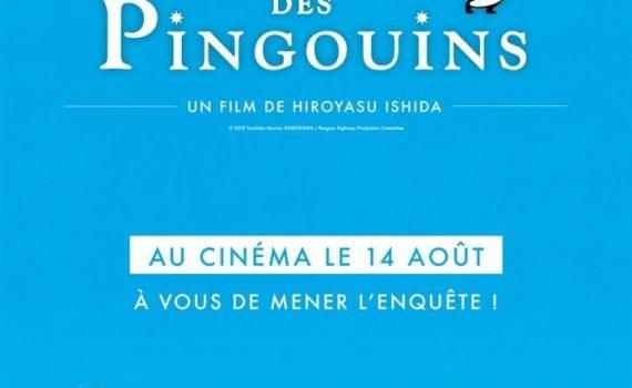 """Affiche du film """"Le Mystère des pingouins"""""""