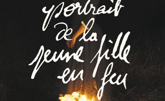 """Affiche du film """"Portrait de la jeune fille en feu"""""""