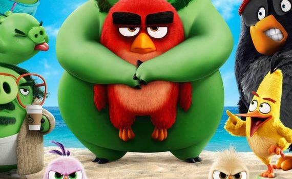 """Affiche du film """"Angry Birds : Copains comme cochons"""""""