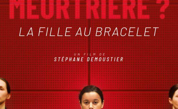 """Affiche du film """"La Fille au bracelet"""""""
