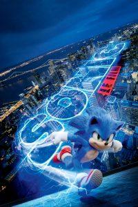"""Affiche du film """"Sonic le film"""""""