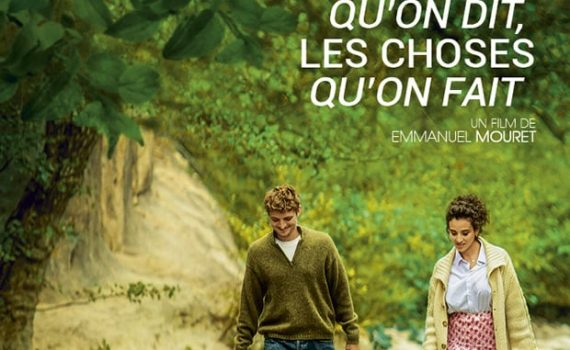 "Affiche du film ""Les choses qu'on dit, les choses qu'on fait"""