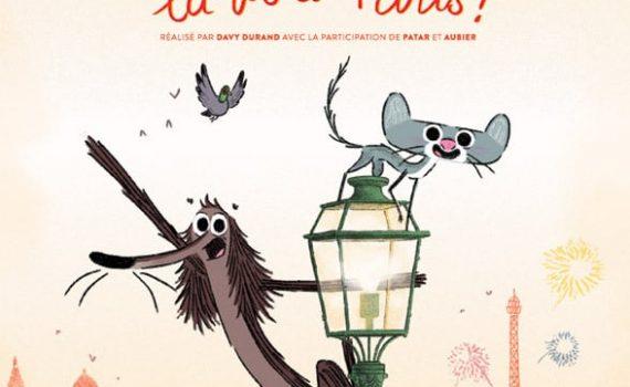 """Affiche du film """"Chien pourri, la vie à Paris"""""""