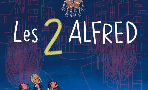 "Affiche du film ""Les 2 Alfred"""