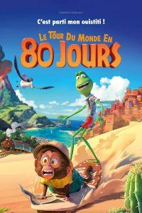"""Affiche du film """"Le tour du monde en 80 jours"""""""