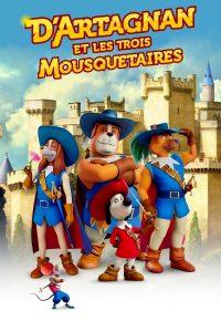 """Affiche du film """"D'Artagnan et les trois mousquetaires"""""""