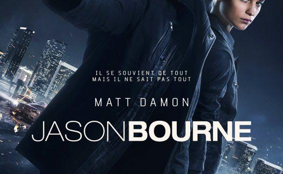 "Affiche du film ""Jason Bourne"""