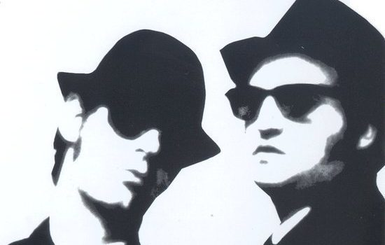 """Affiche du film """"The Best of the Blues Brothers"""""""