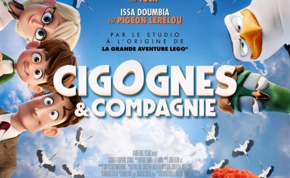 """Affiche du film """"Cigognes et Cie"""""""